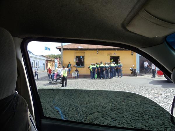 Comically Delayed on the Way to Santa Maria de Jesus Guatemala