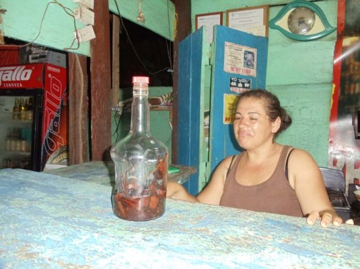Gifiti is Garifuna blend of rum, herbs, roots and spices
