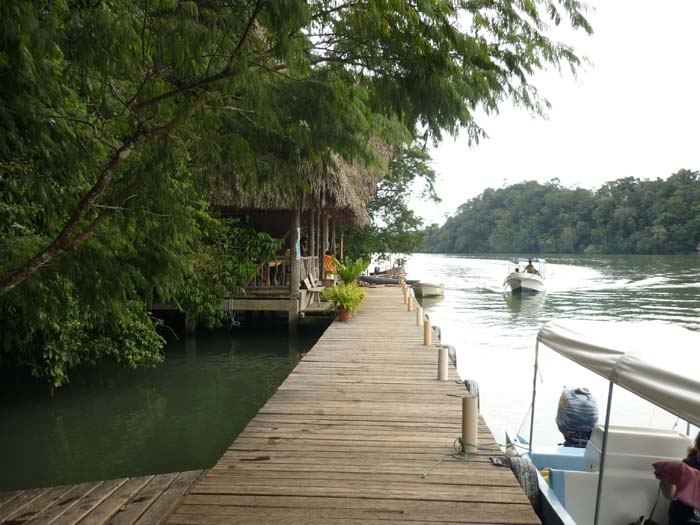 Livingston Guatemala Hotels Dock